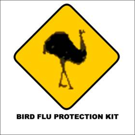 Bird Flu Premium Kit contains: