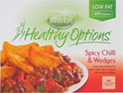 Healthy Option Beef and Chilli Wedges