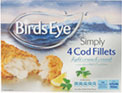 Simply 4 Cod Fillets in Breadcrumbs (450g) Cheapest in Tesco Today!