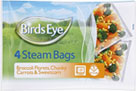 Steam Bags Broccoli Carrots and