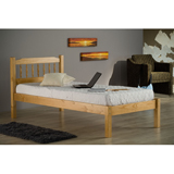135cm Santos Double Pine Bed Frame