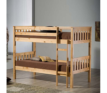 Seattle Solid Pine Bunk Bed
