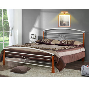 Meteor 4FT Small Double Metal Bedstead