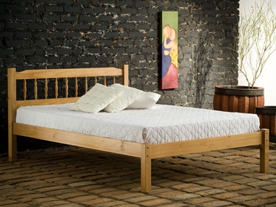 Santos Small Double (4) Slatted Bedstead
