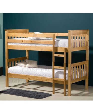 Seattle 3ft Pine Bunk Bed
