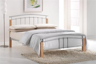 Tetras Small Double (4) Slatted Bedstead