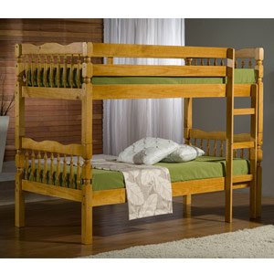 Weston 3FT Single Wooden Bunk Bed