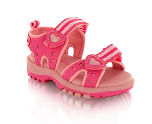 Cute Double Velcro Sandal