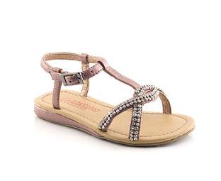 Diamante Trim Sandal - Infant