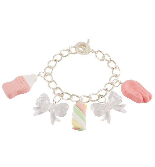 Flump Milk Bottle and Shrimp Sweetie Charm