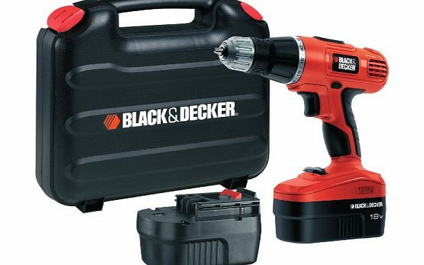 EPC188BK 18V NiCd Hammer Drill (2 Batteries and Kitbox)