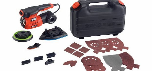 KA280 230V Autoselect 4-in-1 Multi Sander Plus 19 Accessories