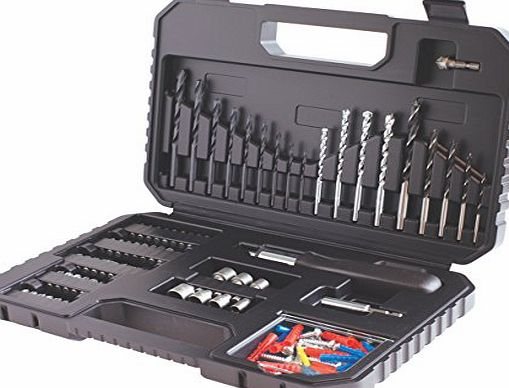 BLACK DECKER Black   Decker A7220-XJ Drilling and Screw Driving Set (120-Piece)
