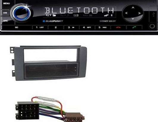 Car Radio MP3 USB SD AUX Bluetooth Remote Control for Smart Fortwo (451) FORFOUR (04/2007-09/2010) (454)