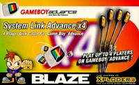 System Link Advance X4 GBA