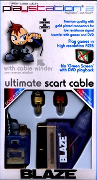 Ultimate Stereo Scart Cable PS2