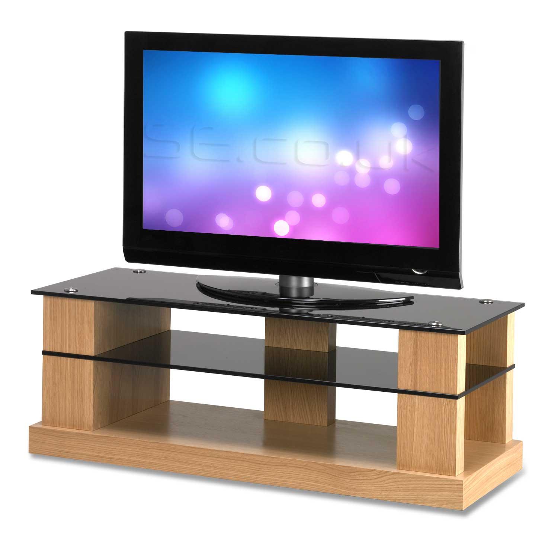 contemporary oak range tv stands. Black Bedroom Furniture Sets. Home Design Ideas