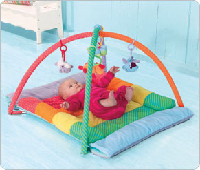 3 In 1 Tummy Time Arch and Quilt