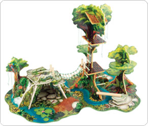 Blossom Farm Jungle Adventure Set