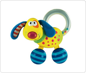 Light and Sound Dog Rattle