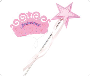 Make Your Own Tiara and Wand