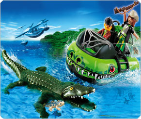 Playmobil Get Away Hovercraft