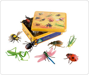 Tins of Animals and Creatures - 8 Mini Beasts