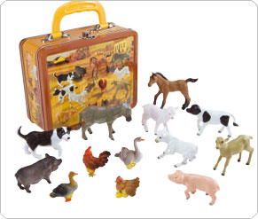 Tins of Baby Animals - Farm Animals