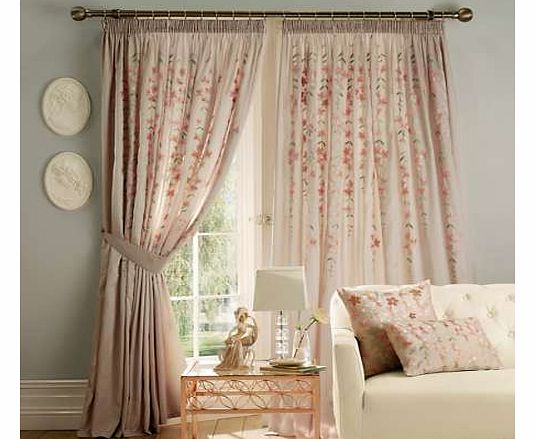 Trail Standard Header Lined Curtains