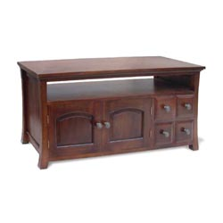 Blue Star - Rio 4 Drawer Small TV Stand