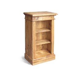 Blue Star - Vintage Pine Bookcase Short & Narrow