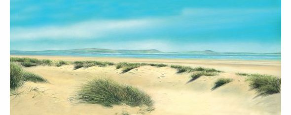 Windswept Dunes - Fine Art Landscape Blank or General, Occasional, Birthday Greeting Card. Seascape