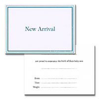 new arrival cards