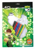 Ben 10 Poster Colouring Set