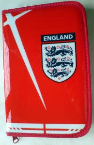 England Filled Pencil Case
