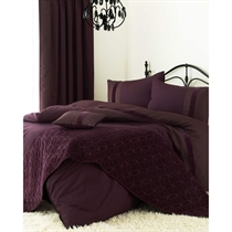 Aubergine Quilt Cover Set King Size