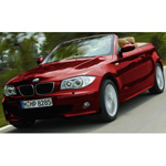 bmw 1 Series Cabriolet 2008 Red