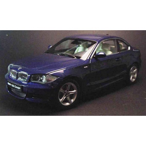 bmw 135i Coupe 2007 - Blue 1:18