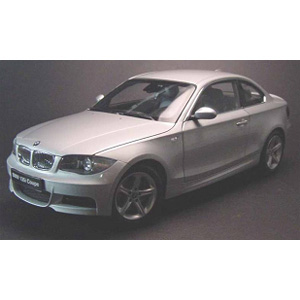bmw 135i Coupe 2007 - Silver 1:18