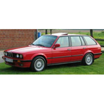 bmw 3 Series Touring Red