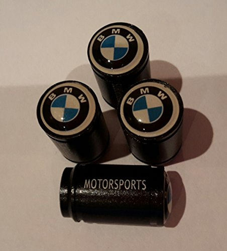 blue and white top large black motorsport car Tyre Valve cap DustCap M3 M6 X5 Gran Turismo coupe
