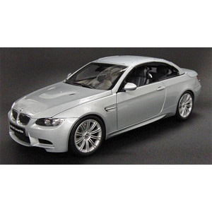 M3 Convertible 2007 - Silver 1:18