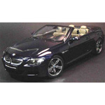 bmw M6 Convertible 2006 Blue
