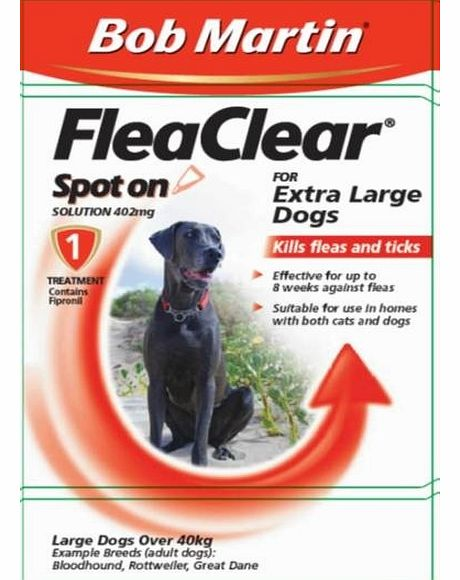 FleaClear Spot On Extra Large Dogs