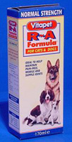 Vitapet Double Strength R & A Formula For Large