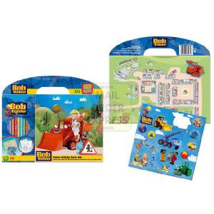 Copywrite Bob The Builder Colour and Carry Set