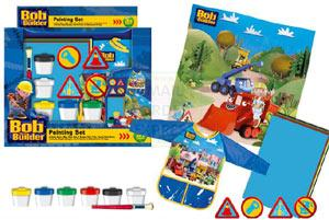 Copywrite Bob The Builder Mini Painting Set