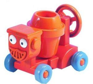 Bob The Builder Friction Pull Back Dizzy