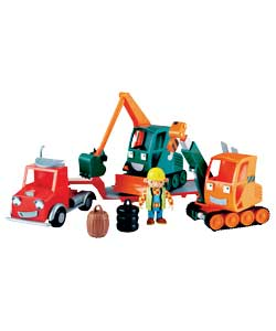 Bob the Builder Gripper and Grabber Playset