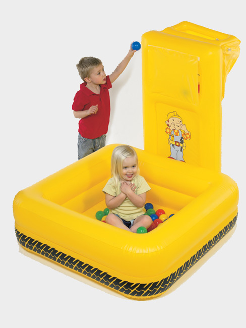 Inflatable Scoop Ball Pool With Balls